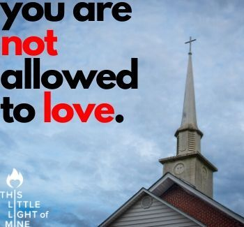 You are not allowed to love
