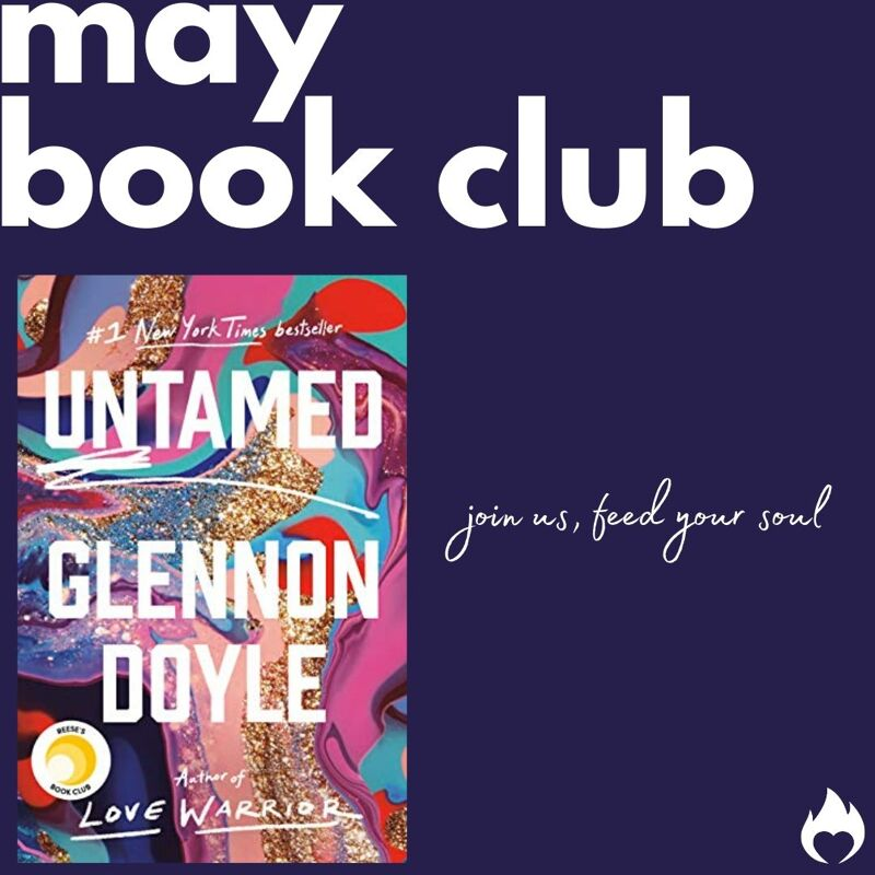 May Book Club Untamed by Glennon Doyle