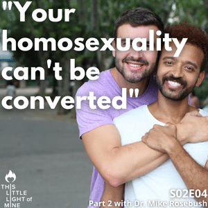 homosexuality can't be converted